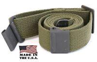 AmmoGarand Cotton Web Sling OD Green for USGI M1 Garand Rifle/Shotguns USA Made!