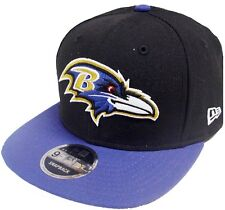 New Era NFL Baltimore Ravens 2 Tone Snapback Cap Kappe 9fifty Basecaps Mens New