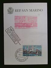 SAN MARINO MK 1973 NEW YORK MAXIMUMKARTE CARTE MAXIMUM CARD MC CM c8427