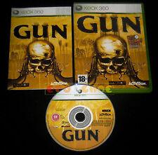 GUN XBOX 360 Versione Ufficiale Italiana 1ª Edizione ••••• COMPLETO