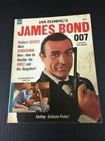 Ian Fleming 007 JAMES BOND #1 Goldfinger Dell Magazine reference only low grade