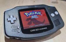 Refurbished IPS Backlit LCD  Gameboy Advance Console Black