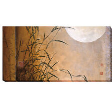 Lakeside Moonrise by Don Li-Leger Gallery-Wrapped Canvas Giclee Art