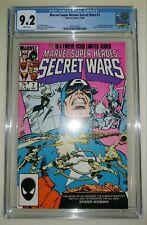 Marvel Secret Wars #7 CGC 9.2 White Pages - 1st New Spider-Woman Julia Carpenter