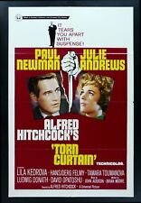 TORN CURTAIN * 1SH ORIG MOVIE POSTER 1966 HITCHCOCK