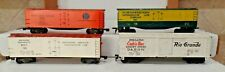 Lot of 4 Gilbert American Flyer Freight Cars - 123, 124, 520, and 33523