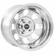 Pro Comp 69 Series Vintage, 15x10 Wheel with 5 on 5.5 Bolt Pattern - Polished -
