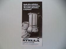 advertising Pubblicità 1979 CAFFETTIERA STELLA