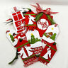 8Pcs Christmas Labels Metal Cutting Dies Stencil DIY Scrapbook Paper Card Craft