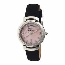 NEW Sophie And Freda SF4003 Womens NEW ORLEANS Crystal Pink Seashell Black Watch