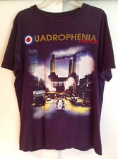 The Who Quadrophenia 1996 North American Tour Blue Polygram T-Shirt Size Large