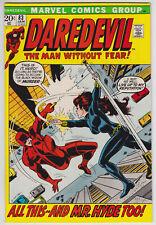 Daredevil #83 VF-NM 9.0 Mr Hyde Black Widow Alan Weiss Art!