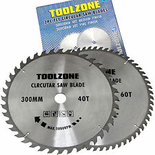 Circular Saw Disc Blades 300mm TCT segmented cutting Saw Blades 1x40 teeth 1x60