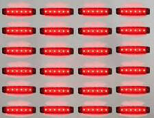24 x 24V SMD LED POSTERIORE SIDE MARKER LIGHT accoppiamenti MAN VOLVO IVECO MERCEDES SCANIA DAF