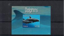 Tuvalu 2013 Mnh Delfines 1v s/s de mamíferos marinos melon-headed Ballena