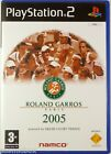ROLAND GARROS PARIS 2005 - jeu video de Tennis console PlayStation 2 PS2 sport