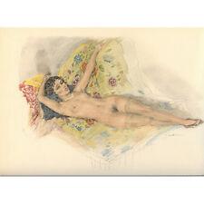 Print - Edouard Chimot: Femme nue allongée - Ready to frame