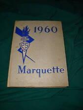 BISHOP NOLL HIGH SCHOOL YEARBOOK 1960 MARQUETTE HAMMOND INDIANA