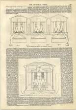 1847 TELEGRAFO ELETTRICO metodi di connessione MAGNETI anti-ORO legge LEAGUE engravi