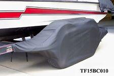 BASS CAT-BLK: Boat trailer fender/tire storage covers exact fit tandem fiberglas