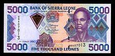 SIERRA LEONE  P-27C   5000 LEONES  (2006) *UNC*