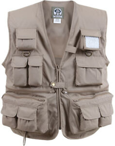 Uncle Milty 17 Pocket Travelers Fishing & Photography Hunting Camping Vest