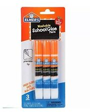 3 Elmer's Washable School Glue Pens .36oz 3ct