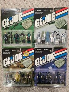 GI Joe 1998 Real American Hero and Cobra Enemy Collections Sealed and Near Mint