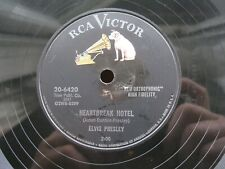 ELVIS PRESLEY 78 RPM HEARTBREAK HOTEL / I WAS THE ONE US RCA VICTOR 20-6420