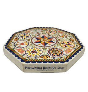 Springbok 1971 Pennsylvania Dutch Hex Signs Okta-Puzzle Octagonal Jigsaw Puzzle