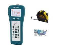 RigExpert AA-600 Antenna Analyzer 0.1 - 600MHz w/ FREE Radiowavz Antenna Tape!