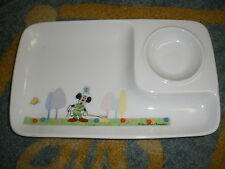 VINTAGE MICKEY MOUSE CHILD PLATE