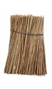 4ft x 20 (8-10mm) Bamboo Garden Canes/Stakes Pole Pack of 20