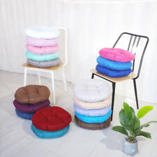 Thick Round Chair Seat Pads Cushion Dining Home Office Garden Floor Mat