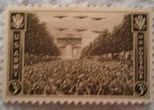 1945 U. S. Scott 934 Army in World War II one new 3 cent stamp at face value