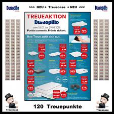 "Treuepunkte  *** 120 Stück ***  >>> DUNLOPILLO <<<  ""Kaufland - Treueaktion"""