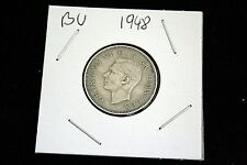 1948 Georgivs VI One Shilling - Silver - Extremely Fine Condition