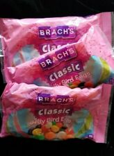 Easter Classic Jelly Bird Eggs Jelly Beans lot 3 Bags! Net Wt 14.5 Oz Branch's