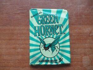 1966 DONRUSS GREEN HORNET WAX PACK SEALED HTF GREAT 1960'S TV SHOW BRUCE LEE