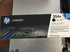 New Genuine OEM HP 304A CC530A HP CP2025 CM2320 mfp Black Opened Box Sealed Bag