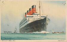 PC67952 Cunard White Star. Aquitania