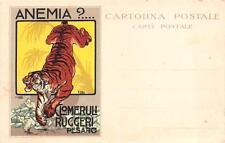 A5309) PESARO CLOMERULI RUGGERI CONTRO L'ANEMIA. ILLUSTRATORE P. PIETRA.