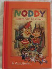 Noddy Goes To School by Enid Blyton hc 2012