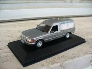 1:43 Mercedes 500SE W126 funeral carro funebre corbillard Leichenwagen lijkwagen