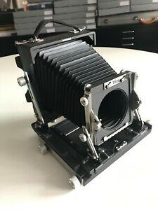 Walker Titan SF 5x4 Large Format Field Camera. Rodenstock 210 lens + accessories