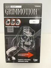 Gemmy Grimmotion Multi-Function White Led Projector Halloween Indoor/Outdoor