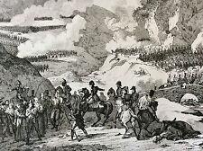 Napoléon Bonaparte Empire bataille napoléonienne bataille Somo-Sierra XIX 1837