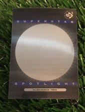 1996-97 UD3 Allen Iverson 'Superstar Spotlight' rare insert card #S8 76ers