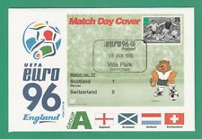 FOOTBALL  -   STAMP  COVER  ENVELOPE  FOR  EURO  96  -  MATCH  NO.  17  -  1996