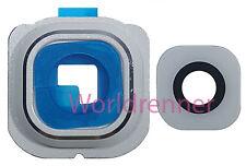 Lente Cámara W Cubierta Camera Lens Frame Original Glass Samsung Galaxy S6 Edge